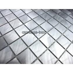 credence cuisine aluminium mosaique douche aluminium cm-alu25