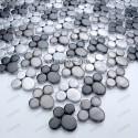 credence cuisine aluminium mosaique douche aluminium cm-ludik