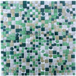 backsplash kitchen aluminium mosaic shower cm-trendy-Green