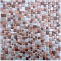 mosaico aluminio frente cocina ducha baño cm-trendy-beige
