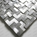 mosaique 3D en aluminium Sekret