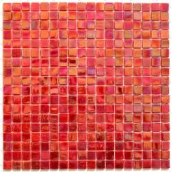 mosaique pate de verre Imperial Rouge