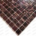 Mosaico pasta de vidrio, azulejo pasta de vidrio 1 placa modelo Speculo Magenta