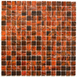 Mosaic glass for wall and floor Speculo Orange