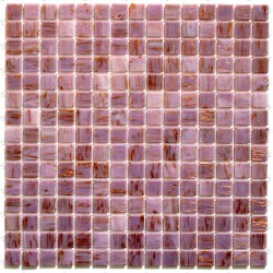 Mosaico pasta de vidrio azulejo pasta de vidrio 1 placa modelo Speculo Rose