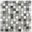 Pared de baño de mosaico y piso Atena