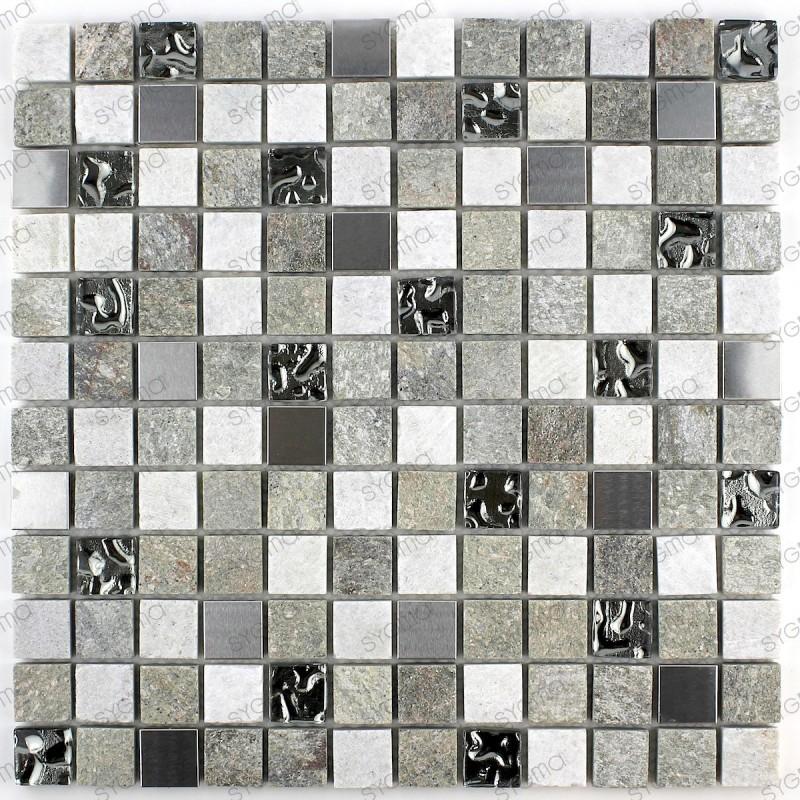 Mosaique salle de bain mur et sol Atena