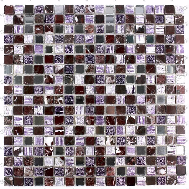 mosaique salledebain et douche pierre ADEL