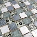 Mosaic bathroom shower wall and floor MILLA