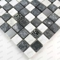 bathroom wall and glass stone and steel ETHNO floor tiles