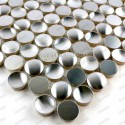 stainless steel mosaic brushed for wall kitchen bathroom TRIGO