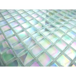 Mosaique carrelage verre 1 plaque MURANO