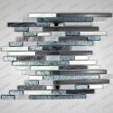 Glass mosaic for italian shower model 1sqm Vibe