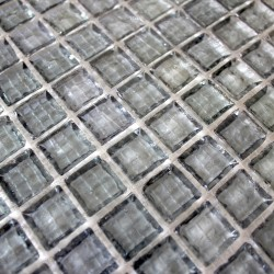 Mosaic for bathroom shower and kitchen Crystal gris 1sqm