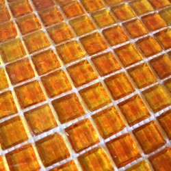 bathroom glass mosaic and kitchen 1m crystal orange