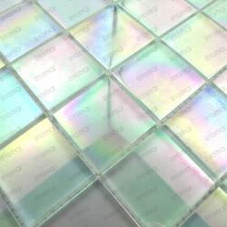 carrelage de verre pour mur et sol 1m MURANO48