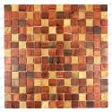 Mosaic wooden bathroom backsplash kitchen model shiro