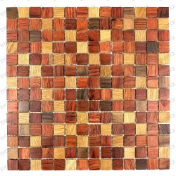 Mosaic wooden bathroom backsplash kitchen model shiro