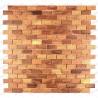 mosaico de madera suelo y muro modelo graham