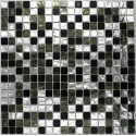 mosaique salle de bain 1m-glossnero