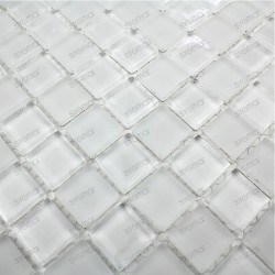 bathroom glass mosaic model m-matblanc 1sqm