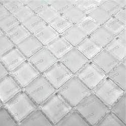 salle de bain mosaique de verre modèle 1m-damierblanc