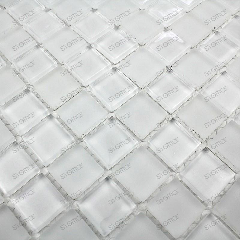 bathroom glass mosaic model m-matblanc