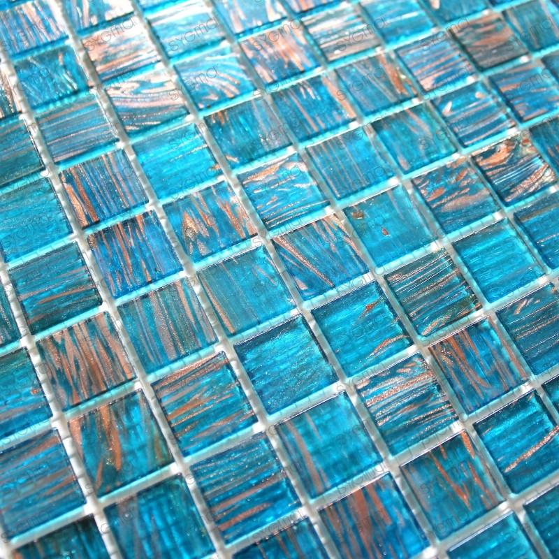 Mosaic glass 1 m - vitrobleu