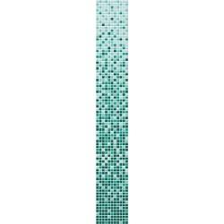 Color del degradado de mosaico de vidrio modelo vita azul