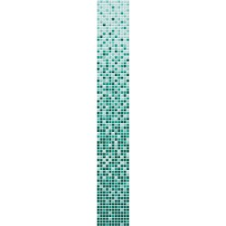Gradient color VITA green glass mosaic