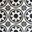 Cement tiles 1sqm model palma-noir