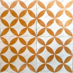 Cement tiles 1sqm model sampa-orange