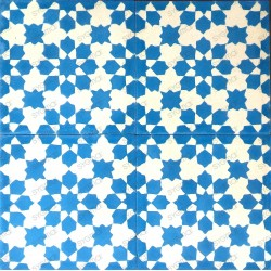Cement tiles 1sqm model prisma-bleu
