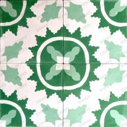 Cement tiles 1sqm model ferret-vert