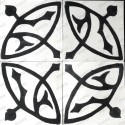 Cement tiles 1sqm model sedra-blanc