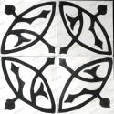 mosaico hidraulico 1m modelo sedra-blanc