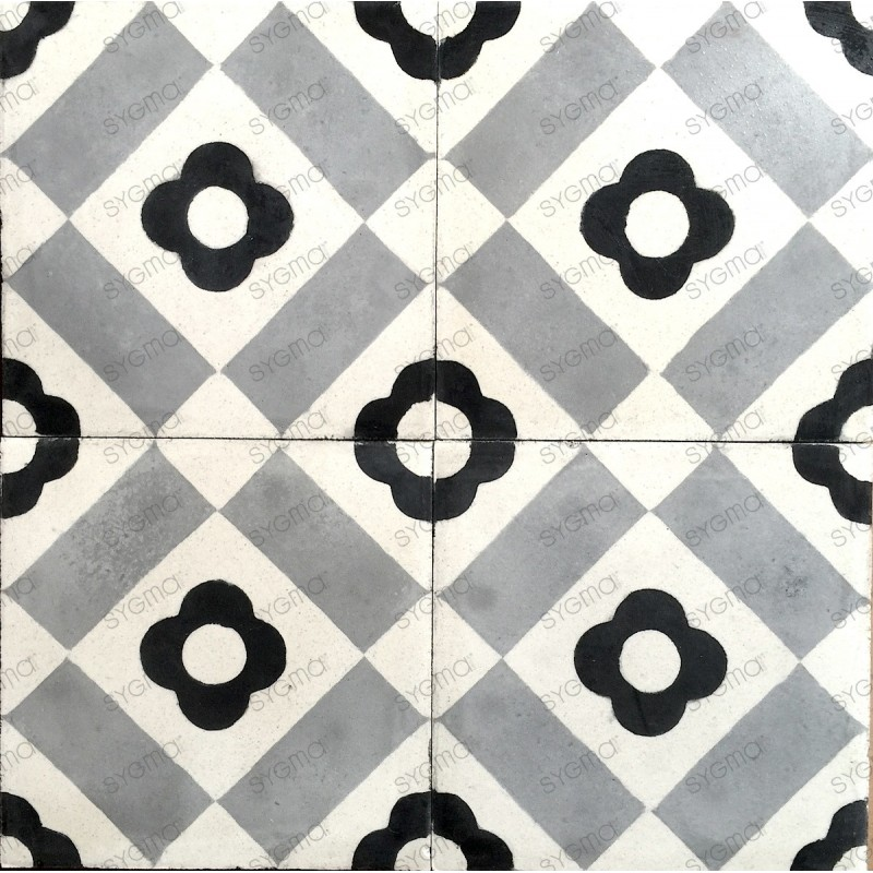 Cement tiles 1sqm model weland