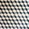 Cement tiles 1sqm model cask