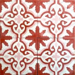 mosaico hidraulico 1m modelo flore-rouge