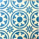 mosaico hidraulico 1m modelo palma-bleu