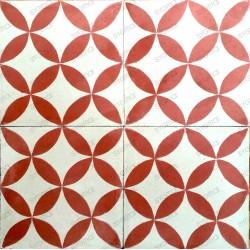 mosaico hidraulico 1m modelo sampa-rouge