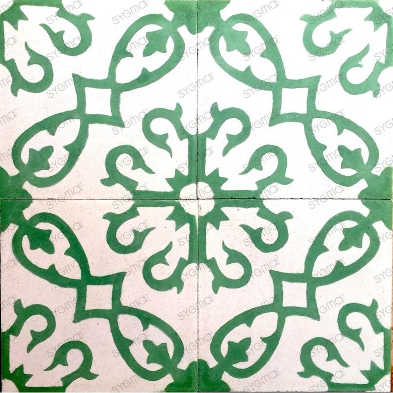Cement tiles 1sqm model bess-vert