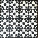 Cement tiles 1sqm model prisma-noir