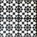 mosaico hidraulico 1m modelo prisma-noir