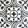 Cement tiles 1sqm model lys-noir