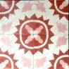 carreaux en ciment pas cher 1m2  modele ferret-rouge