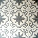 Cement tiles 1sqm model flore-gris