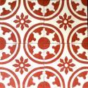 Cement tiles 1sqm model palma-rouge