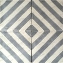 Cement tiles 1sqm model chevron-gris