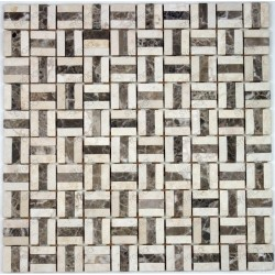 Mosaic tile stone marble 1 plate BODEGA